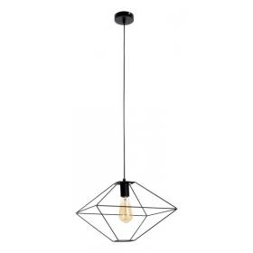 Minimalistyczna lampa z drucianym kloszem Gaia SPOT Light
