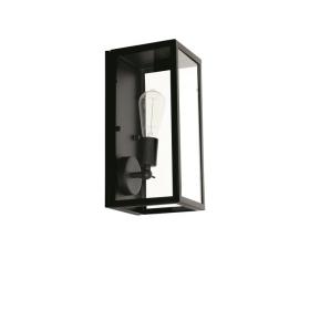 szklana lampa ścienna